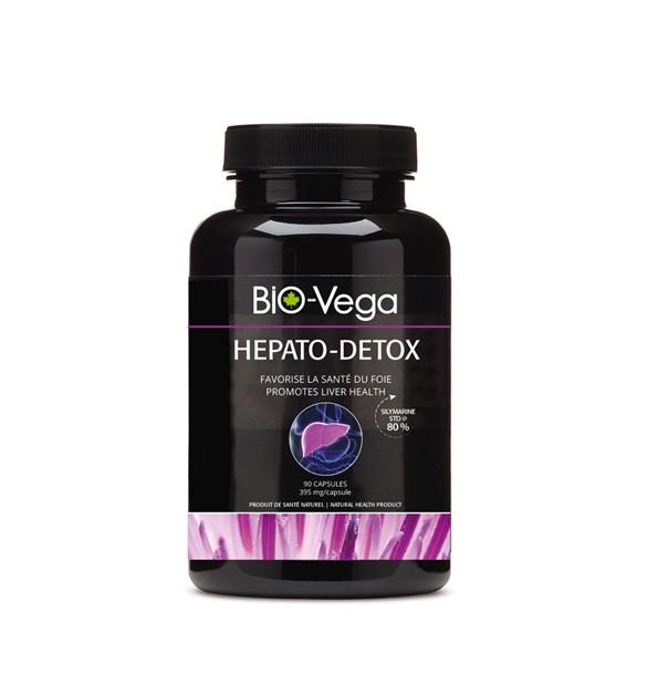 Hepato-Detox - complexe de plantes détoxifiantes - BIO-Vega